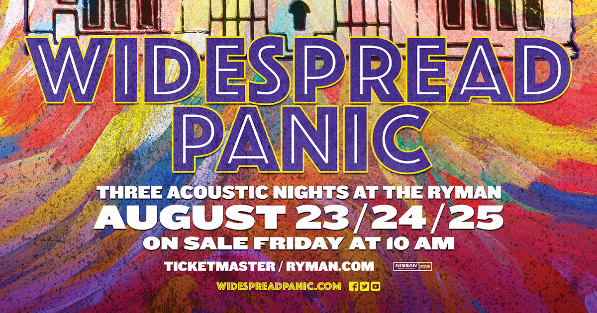 Upcoming Shows | Widespread Panic